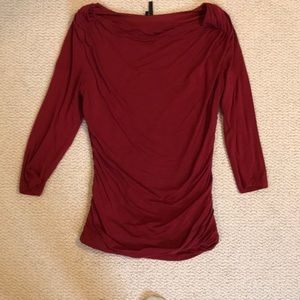 Maurice's 3/4 Sleeve Cowl Neck Top